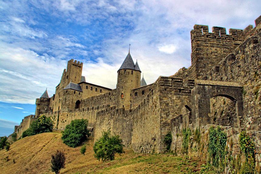 Carcasona, la ciudad amurallada mejor conservada del sur de Francia