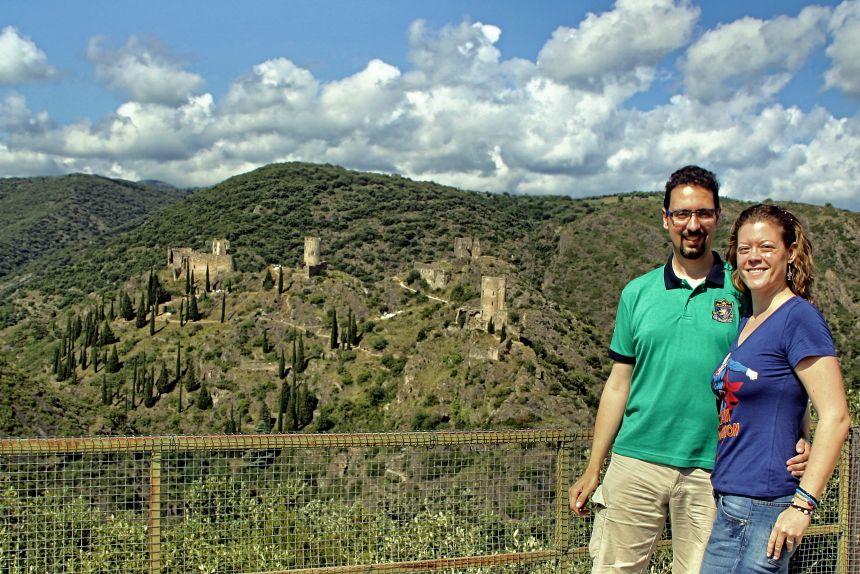 Lastours, fortalezas cátaras del sur de Francia