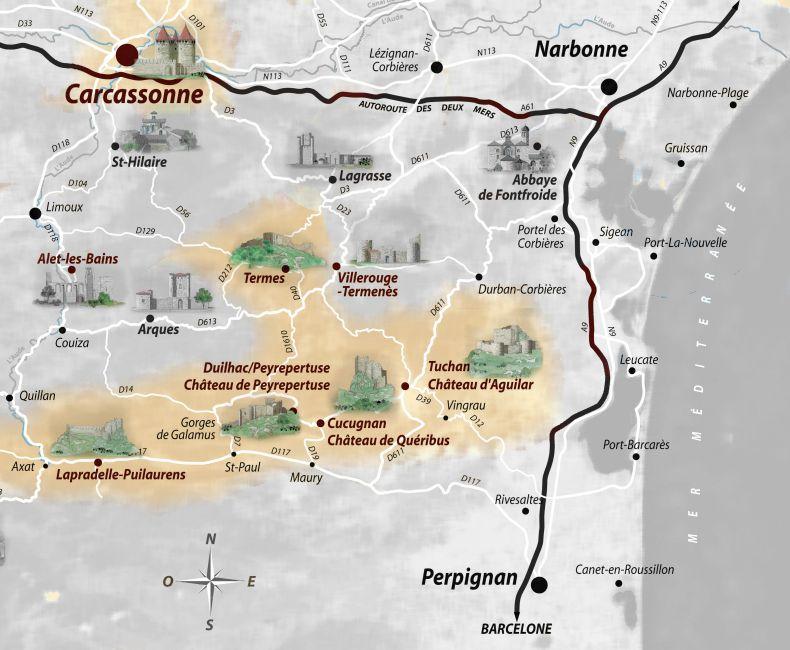los cinco hijos de Carcassonne