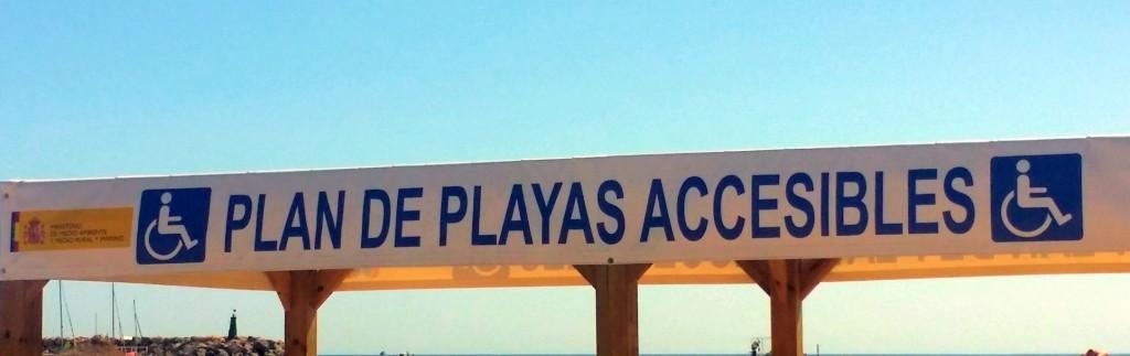 Playa accesible de San José