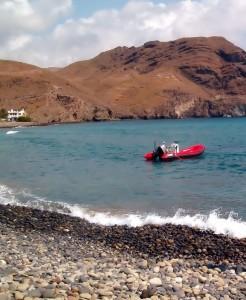 Playa de las Negras en 2004