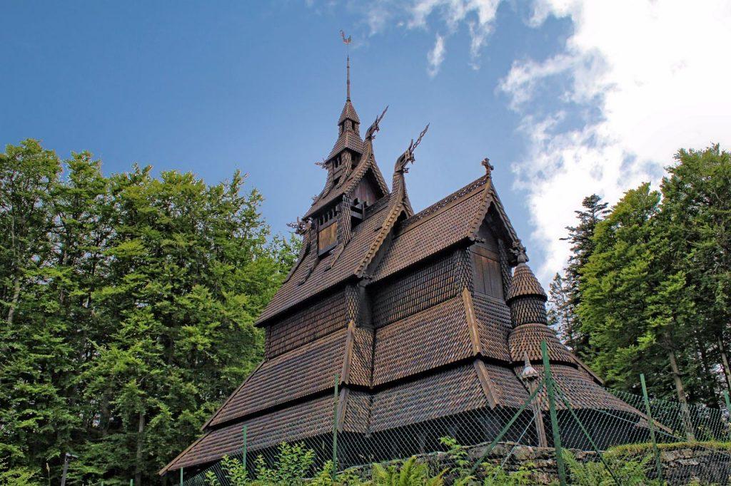 Stavkirke de Fantoft