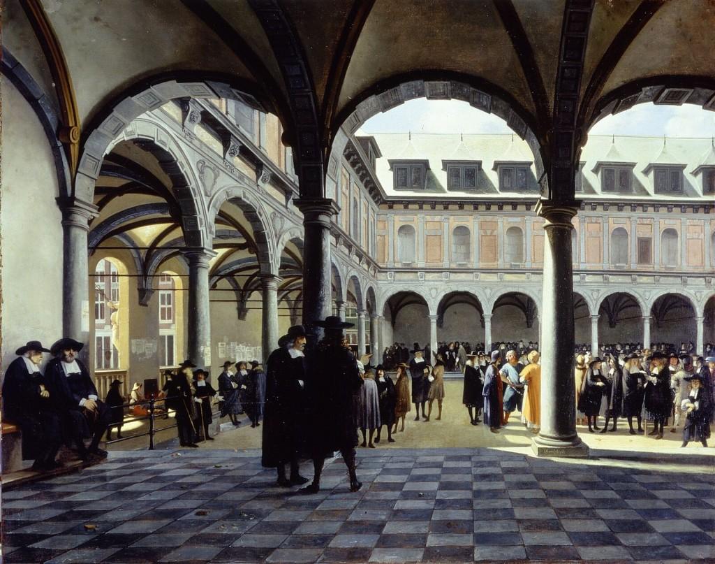 La antigua Bolsa de Ámsterdam