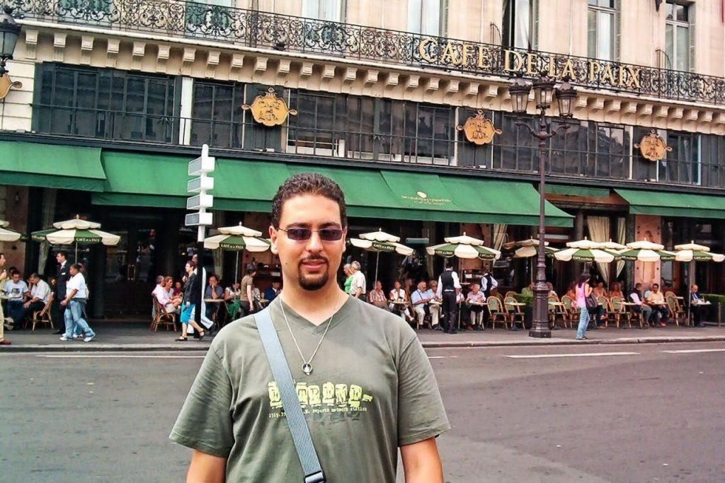 Cafe de la Paix en París