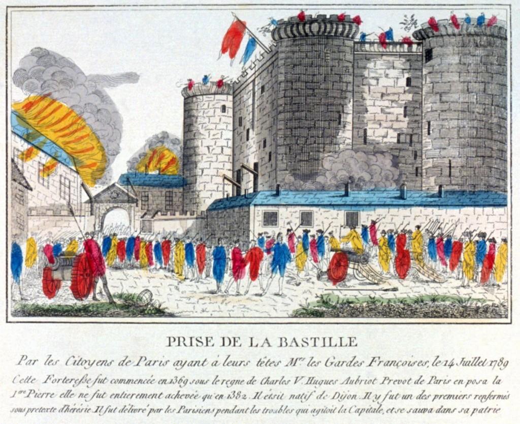 Paris toma de la Bastilla