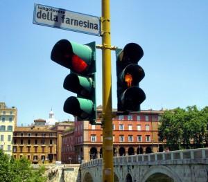 semáforo Roma