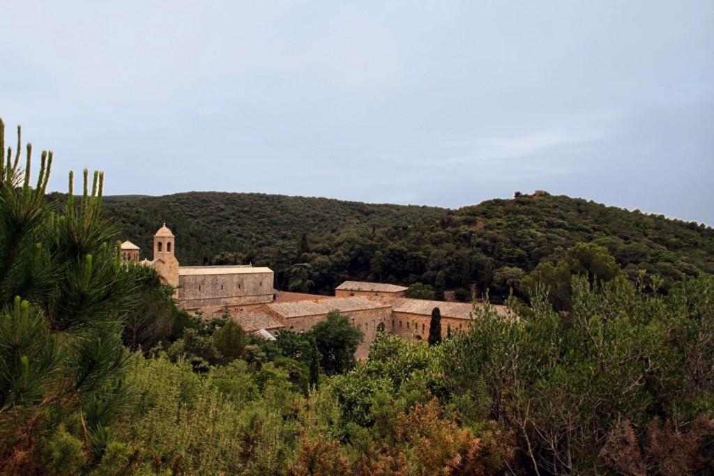 Panorámica de la Abadía de Fontfroide