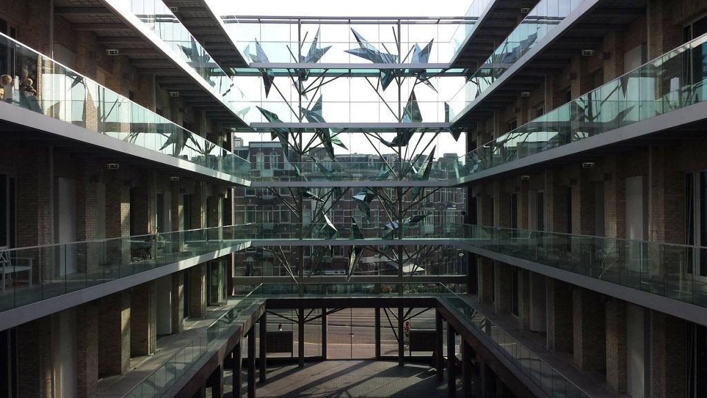 Un hotel de lujo en el centro de Ámsterdam