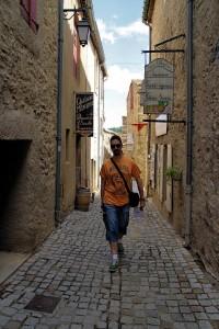 Rue des Martyrs en Minerve