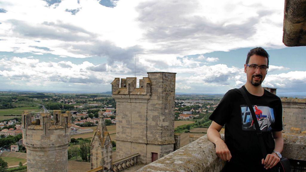 Vistas de Beziers desde Saint Nazaire