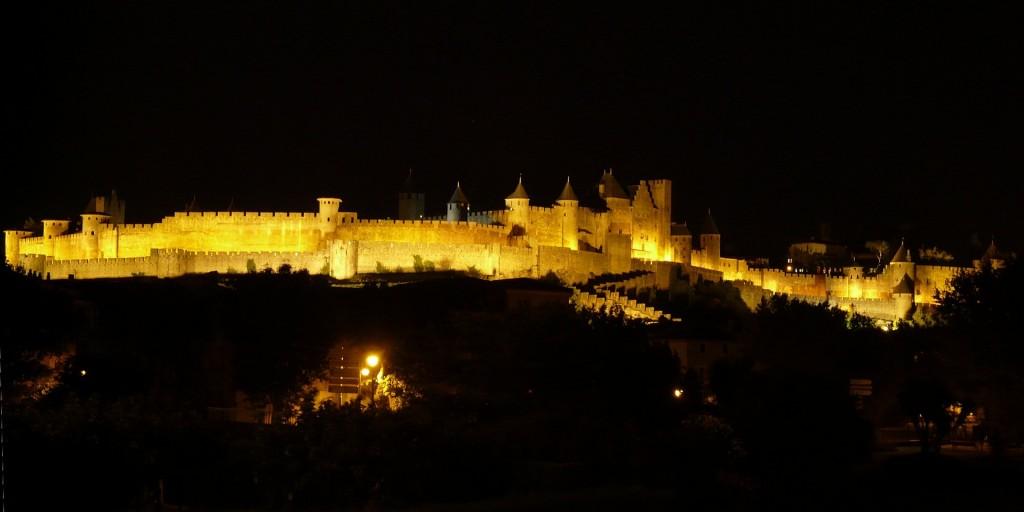 Carcassonne_noche