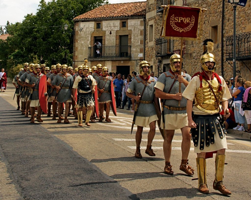 desfile romano