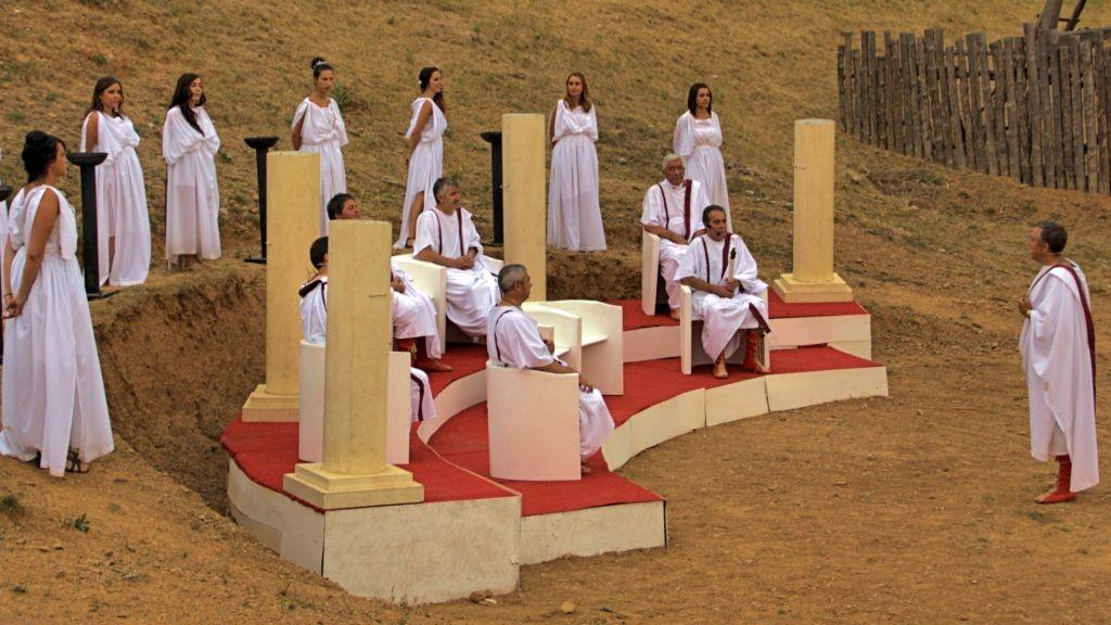 El senado romano declara la guerra a Numancia