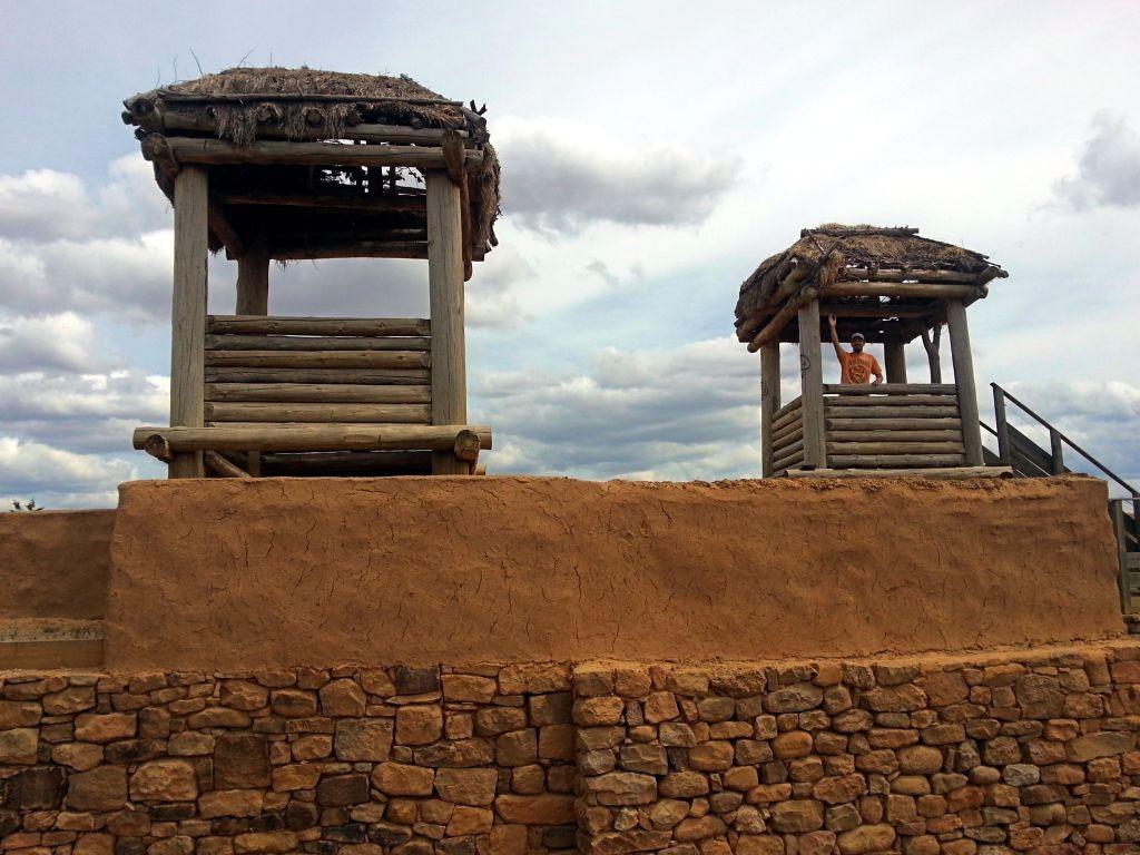 Muralla en Numancia