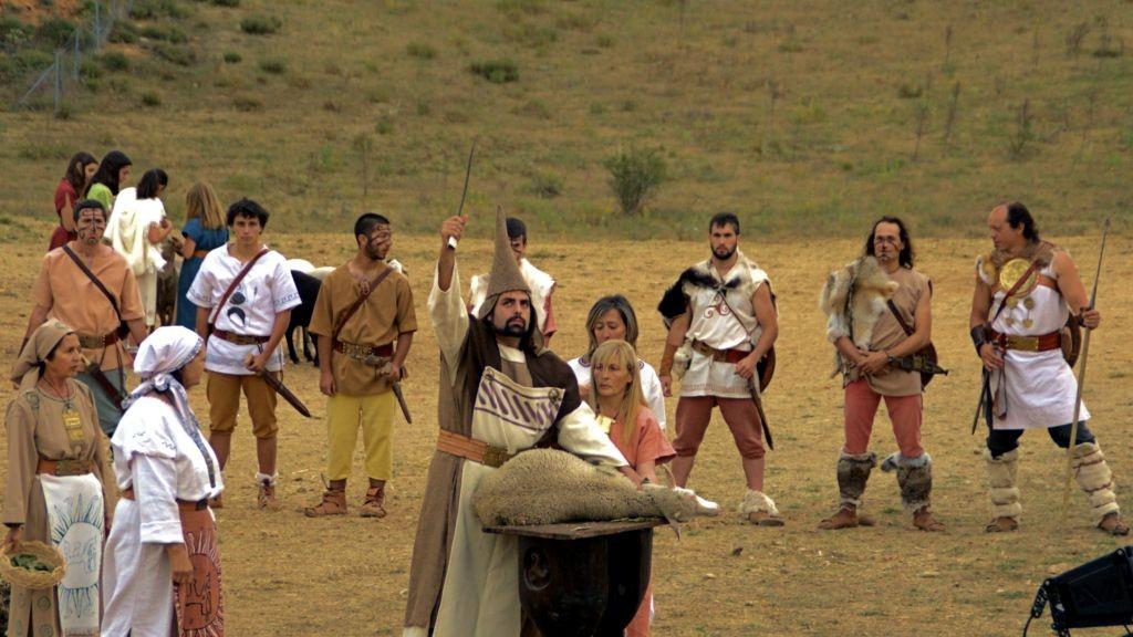 Sacrificio en Numancia