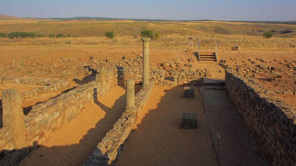 restos romanos en Numancia