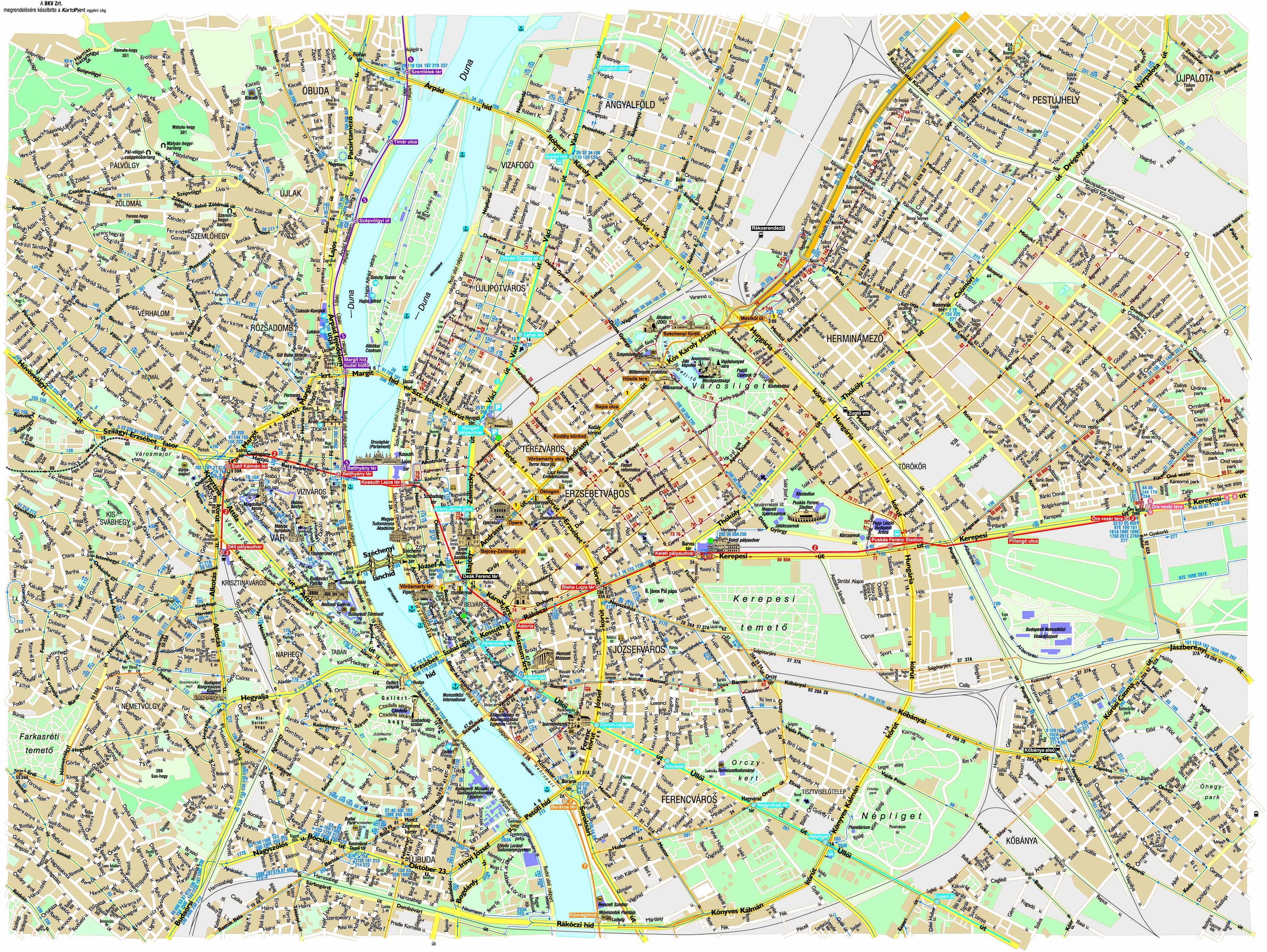 Mapa Turistico Budapest Pdf.Preparando El Viaje A Budapest Mapa Y Mochila