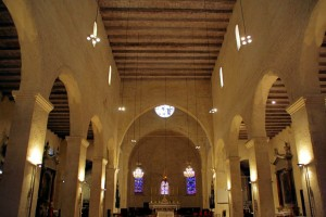 Beziers - Iglesia de la Magdalena (interior)