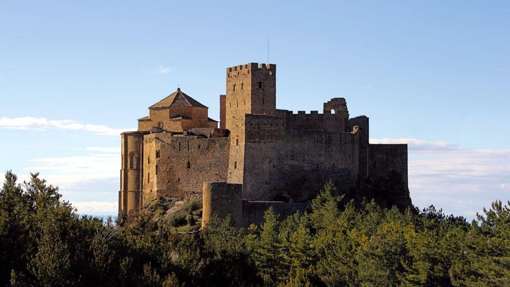 Castillo de Loarre visto desde el parking