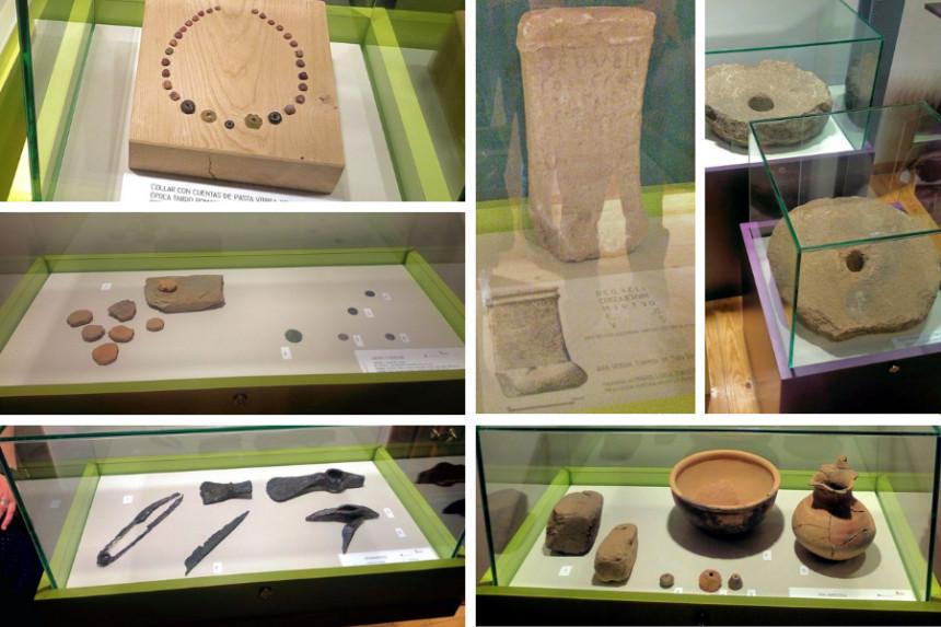 Piezas del museo etnográfico de Candeleda