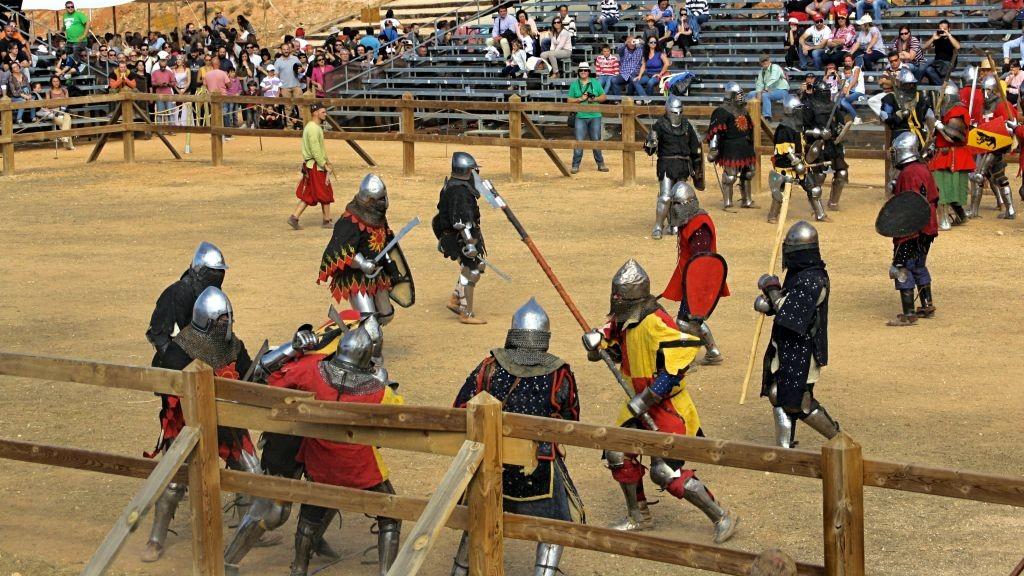 competición de Combate Medieval