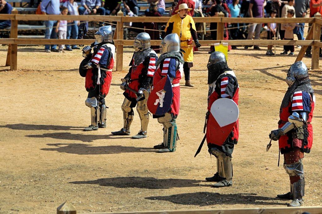equipo de Combate Medieval