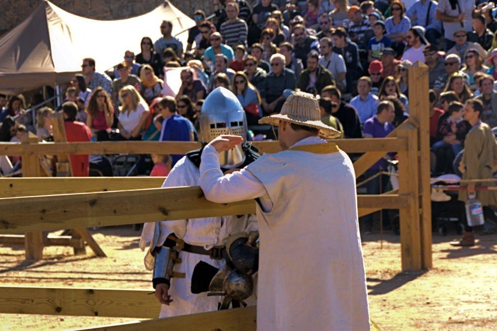 escudero de Combate Medieval