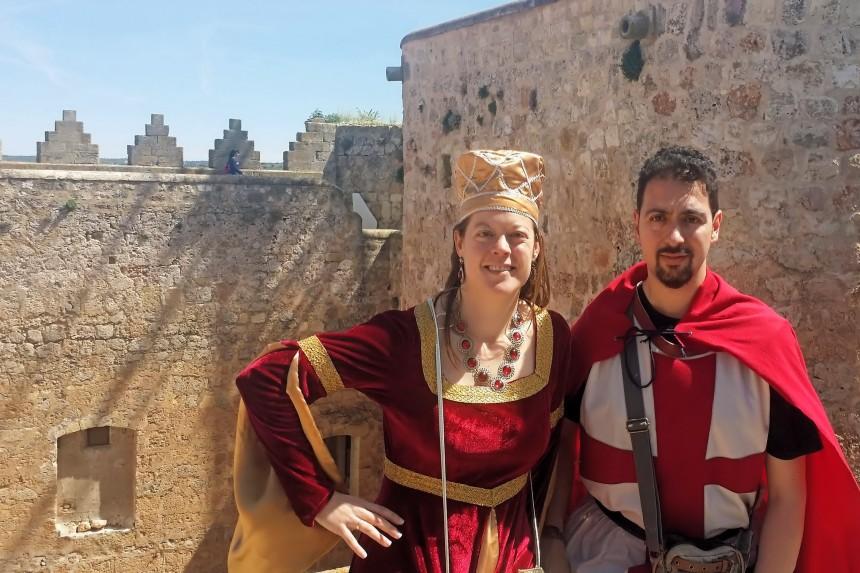 mapaymochila en el Campeonato Mundial de Combate Medieval