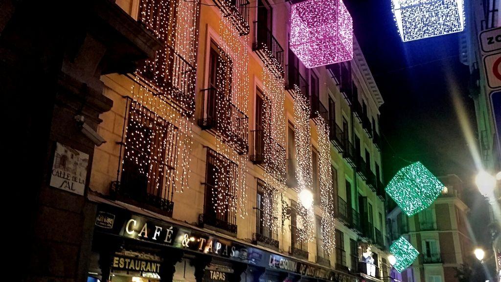 Iluminación de la Navidad en Madrid