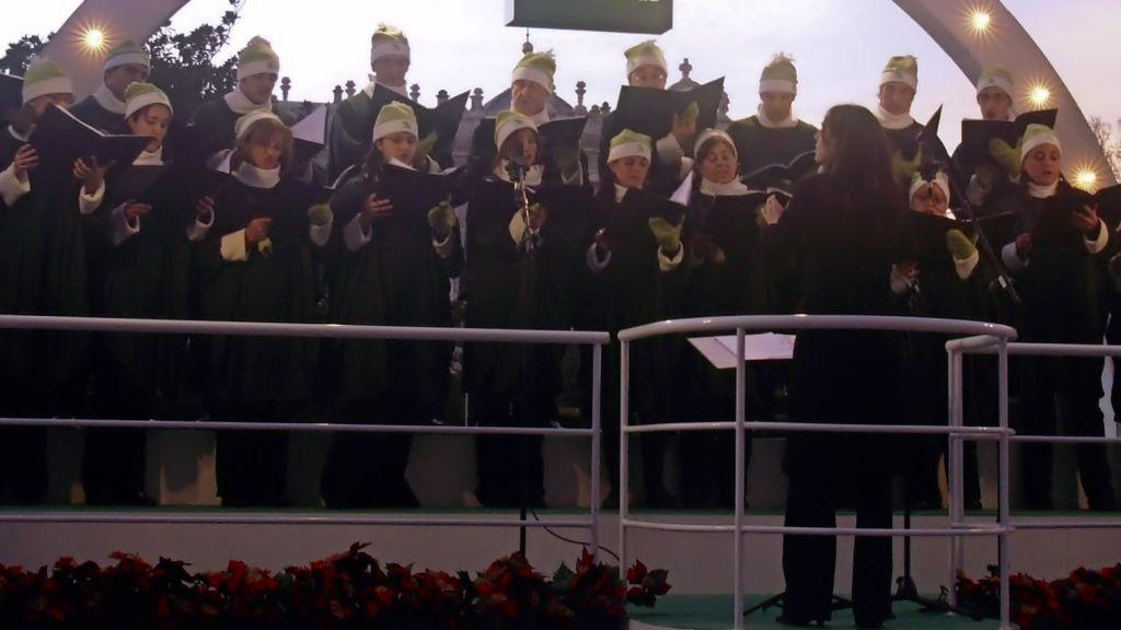 Coro navideño