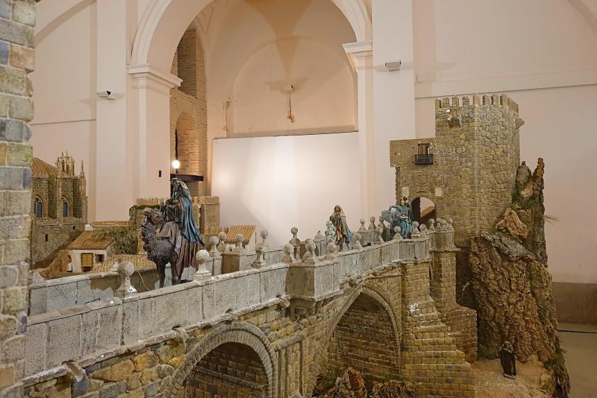 Reyes Magos en Belén Tradicional de Toledo
