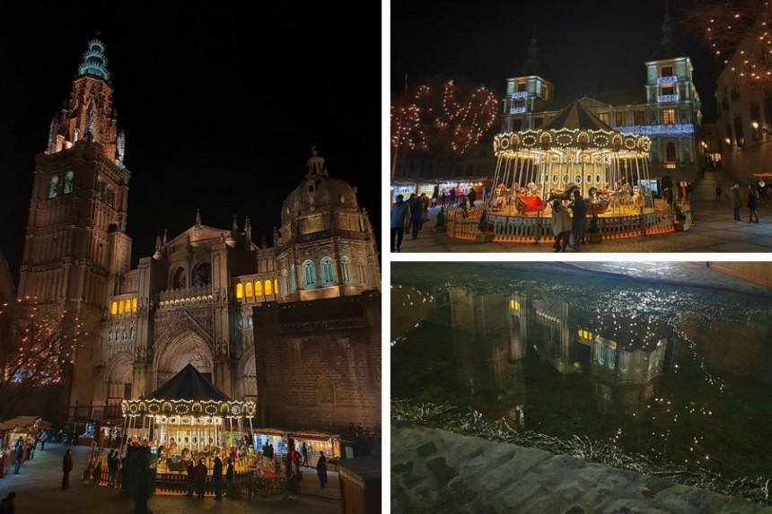 Tiovivo tradicional en Toledo