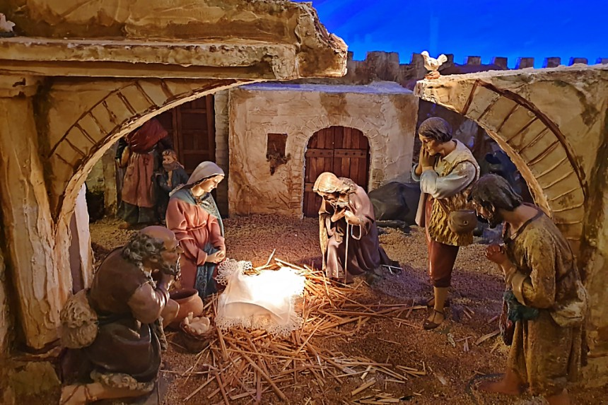 Belén de la Ermita de Nuestra Señora de la Estrella en Toledo