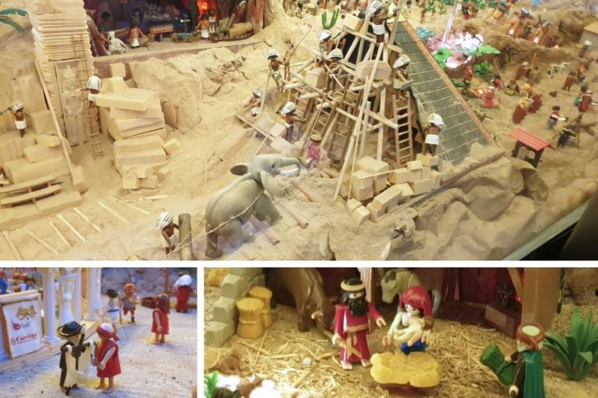 Belen de Playmobil en Toledo