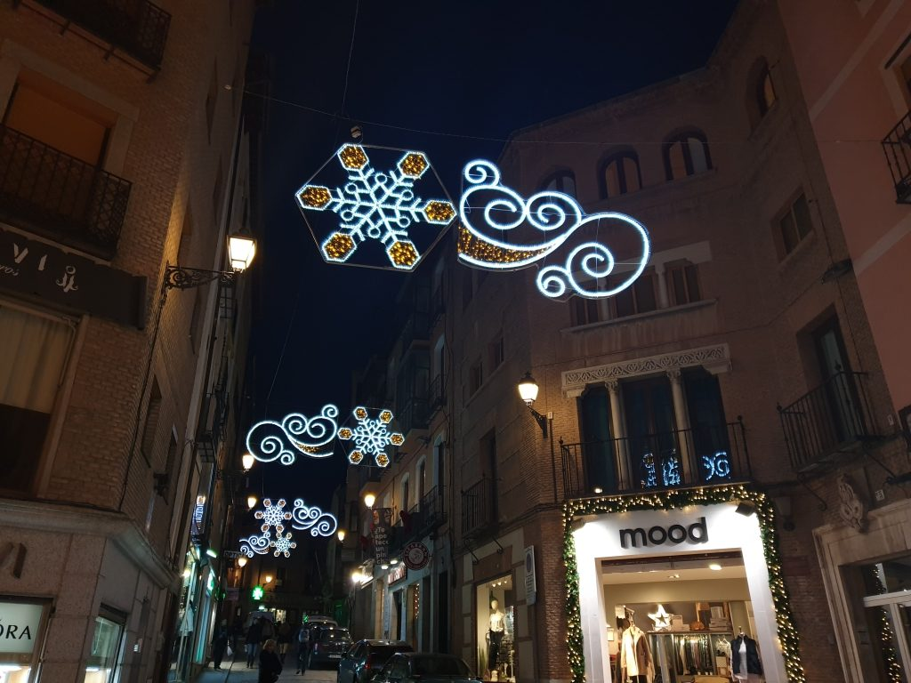 Iluminación navideña de Toledo