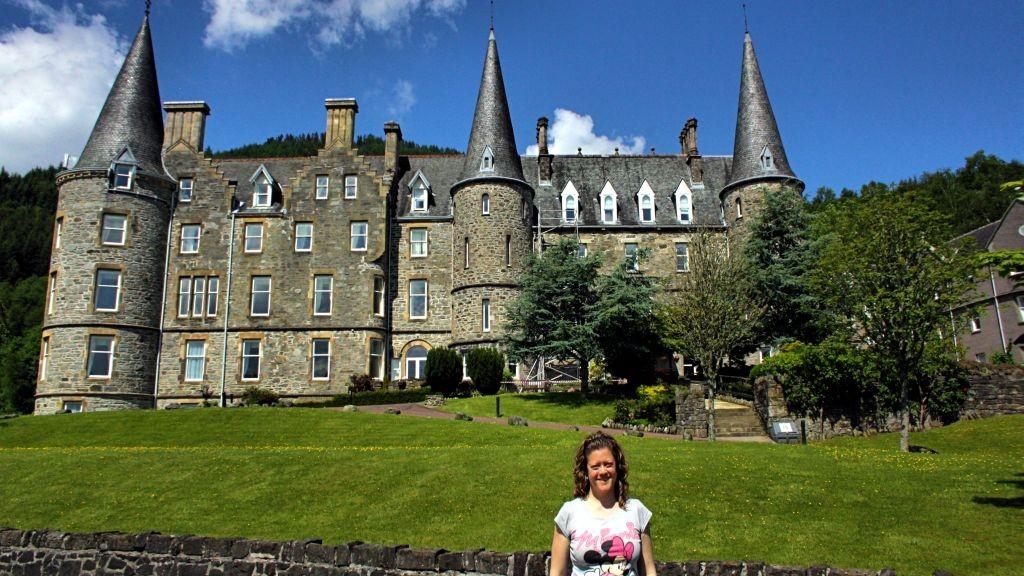 Escocia_Alojamiento_castillo