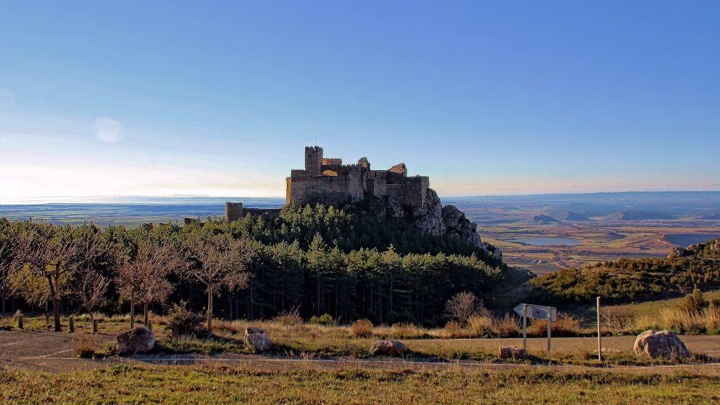 Castillo de Loarre desde el parking