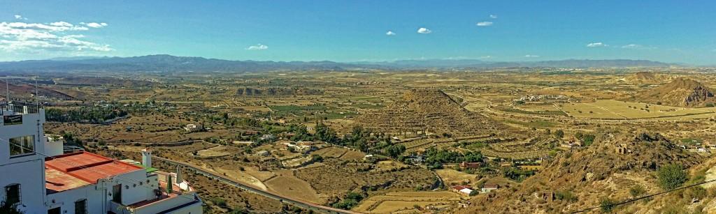 foto panorámica desde Mojácar