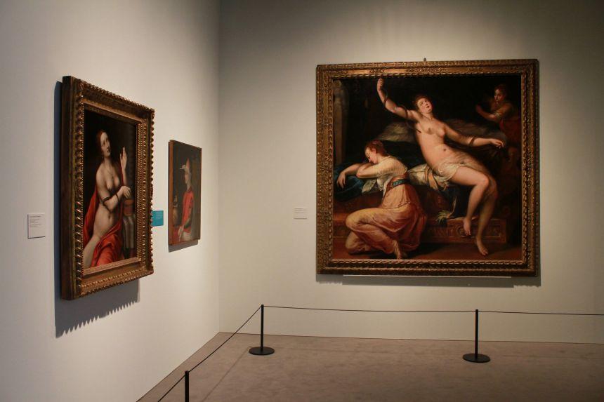 5. Plásticas (2) la muerte de Cleopatra - Denis Calvaert