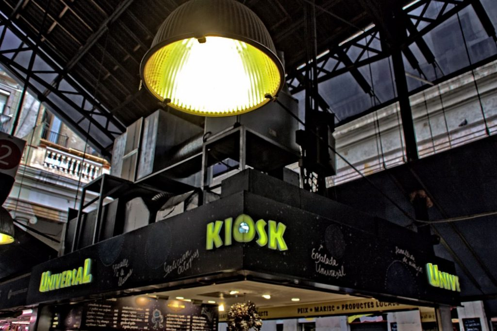 La Boqueria Kiosk