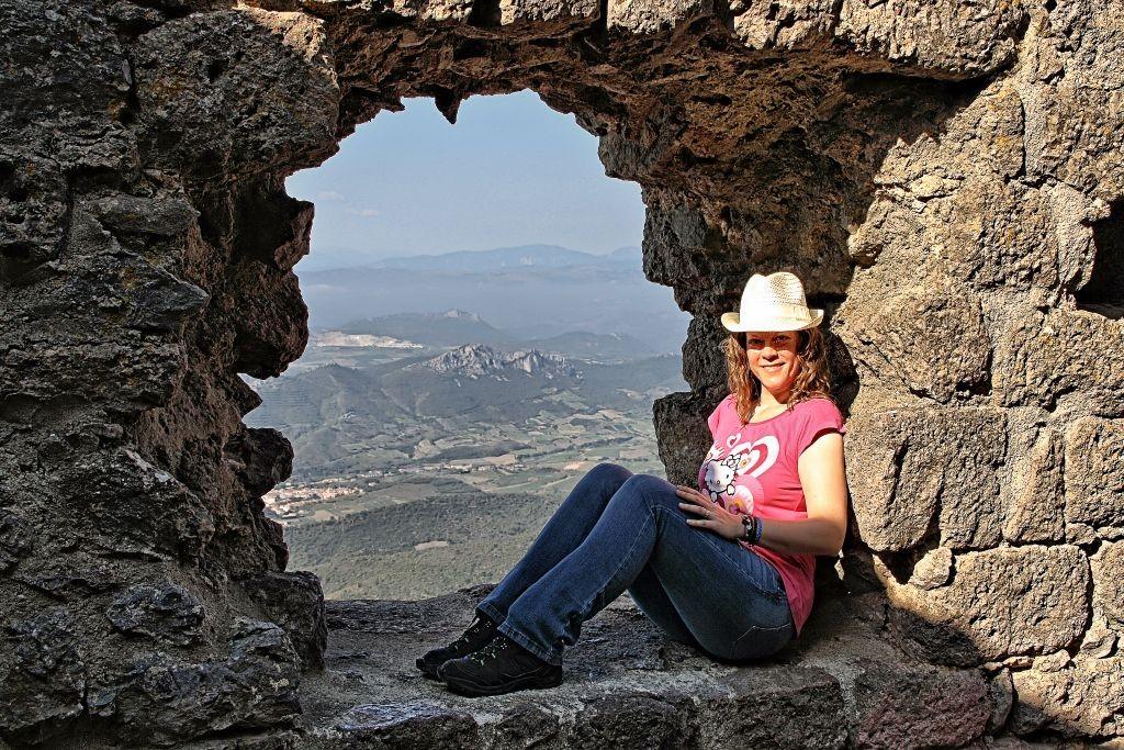 castillo cátaro de Quéribus