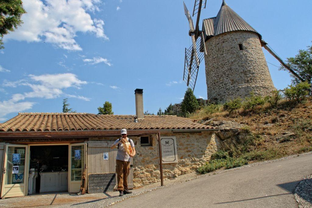 Molino de viento D'Omer en Cucugnan