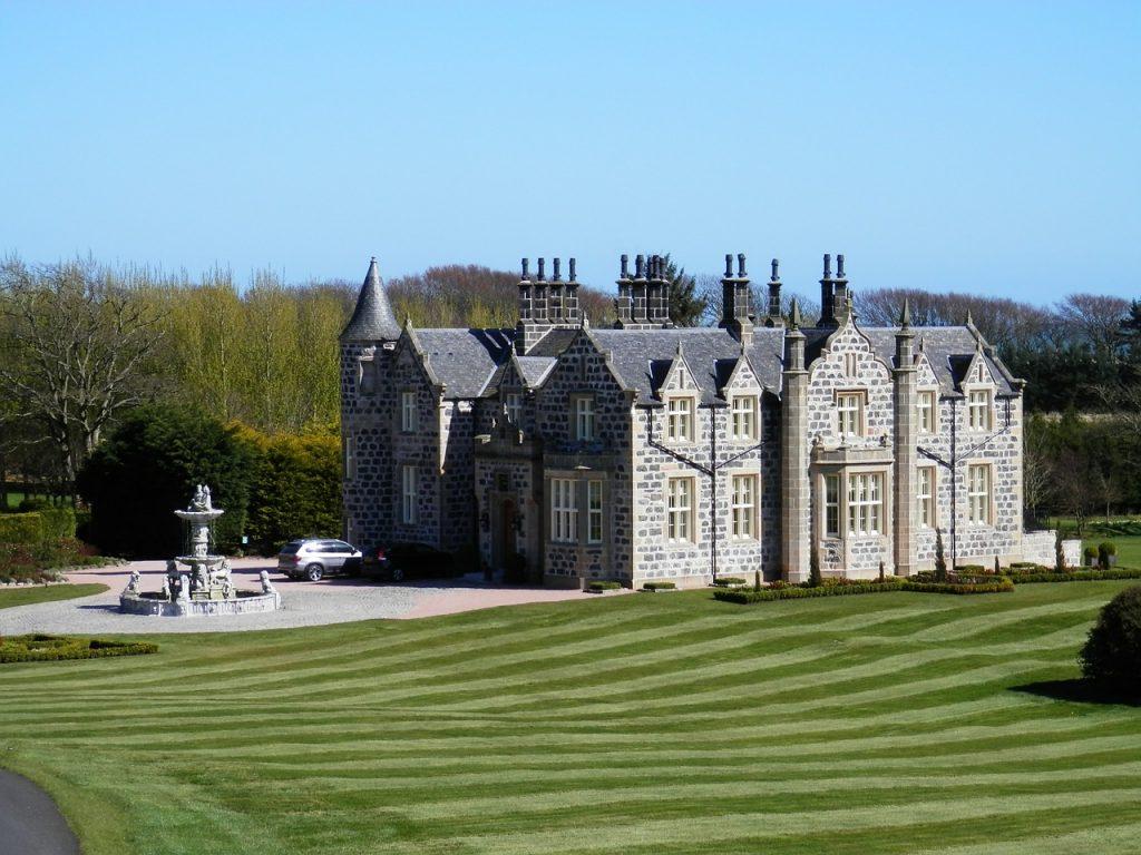 Alojamiento castillo Escocia