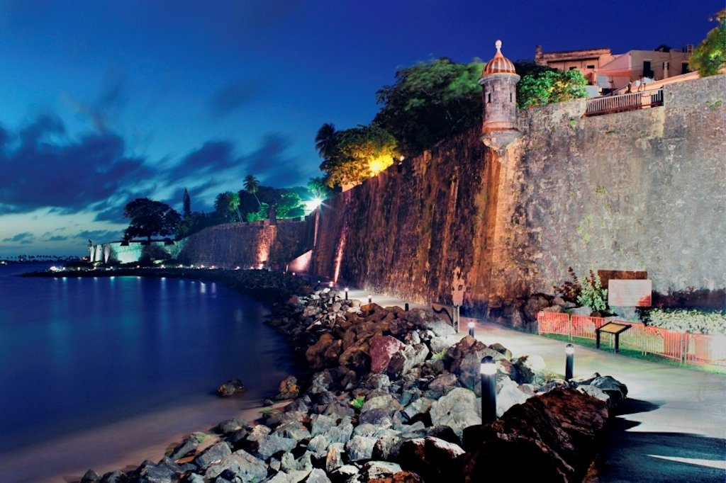 Old San Juan - La Princesa Boardwalk