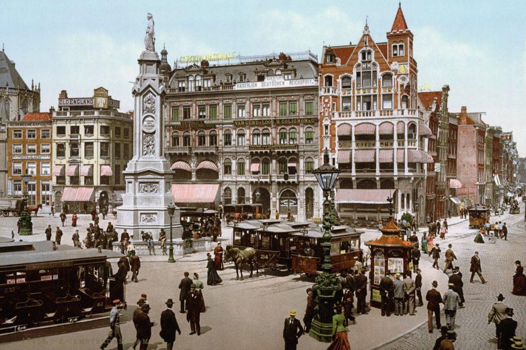 Ámsterdam alrededor del 1900