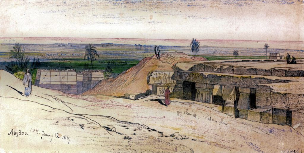 Grabado de Abidos
