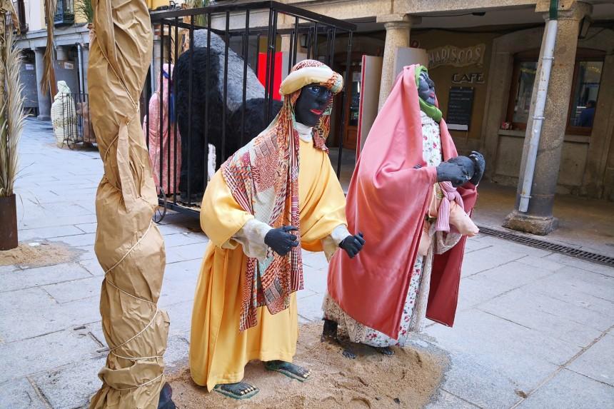 Figuras del Belén Monumental de El Escorial