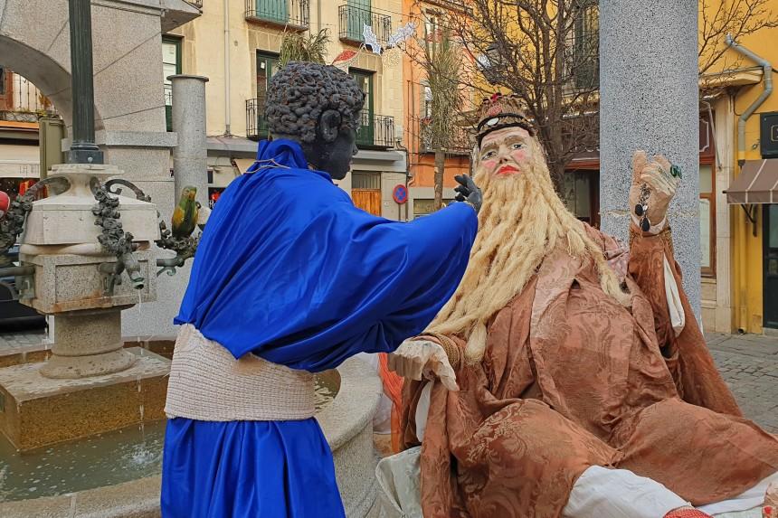 Herodes en el Belen del Escorial