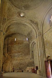 Muro de la Iglesia de San Pedro en Loarre