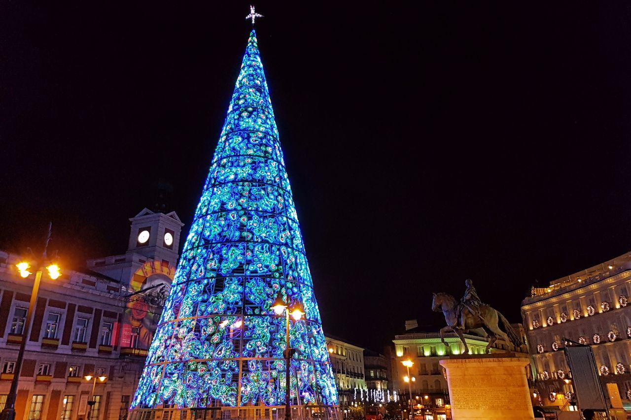 Navidad en Madrid en la Puerta del Sol